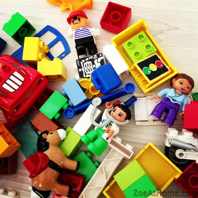 How to Organize Your Home's Toy Collection